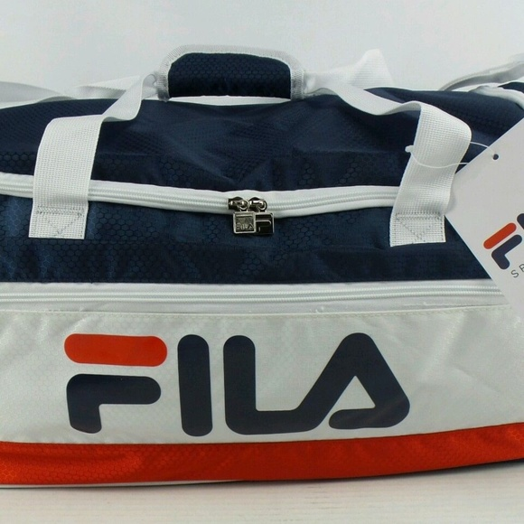 NEW Fila BayWood Sports Duffle Gym Bag 23c9c32add648
